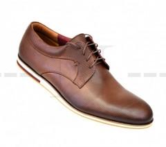 Carlo Benetti bőr cipő - Barna Férfi bőr cipők