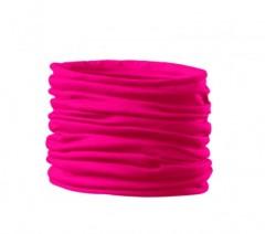 Szatén női cső kendő - Pink