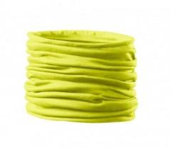 Szatén női cső kendő - Neon