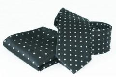 Goldenland nyakkendő szett - Fekete pöttyös Szettek