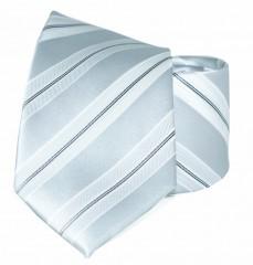 Goldenland nyakkendő - Ezüst csíkos Csíkos nyakkendő