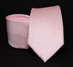 Prémium nyakkendő -  Rózsaszín mintás Aprómintás nyakkendő
