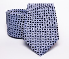 Prémium nyakkendő -  Kék kiskockás Kockás nyakkendők