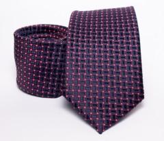 Prémium nyakkendő -  Kék-piros kiskockás Kockás nyakkendők