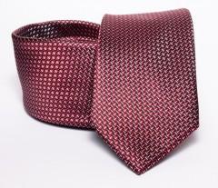 Prémium nyakkendő -  Bordó mintás Aprómintás nyakkendő