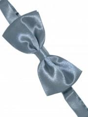 Zsorzsett szatén csokornyakkendőő - Szürke