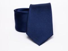 Prémium selyem nyakkendő - Tengerkék Selyem nyakkendők