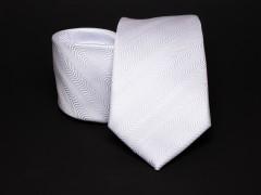Prémium nyakkendő -  Fehér mintás