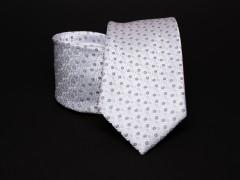 Prémium nyakkendő -  Fehér pöttyös