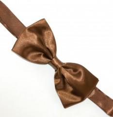 Szatén csokornyakkendő - Aranybarna