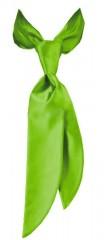 Zsorzsett női nyakkendő - Almazöld