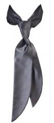 Zsorzsett női nyakkendő - Sötétszürke