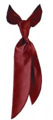 Zsorzsett női nyakkendő - Bordó