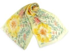 Virágos sál - Sárga