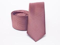 Prémium selyem slim nyakkendő - Lazac Selyem nyakkendők