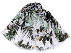 Sál páfránylevelekkel - Zöld