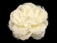 Csipke virág - Ecru