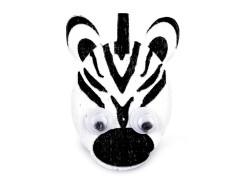 Fa bross - Zebra Gyerek hajdísz, ékszer