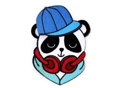 Fa bross 3D - Panda Gyerek hajdísz, ékszer
