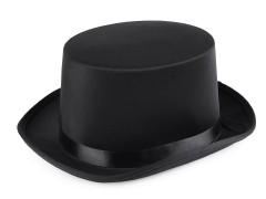 Cilinder - Fekete Férfi kalap, sapka