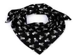 Pamutkendő kalóz - Fekete