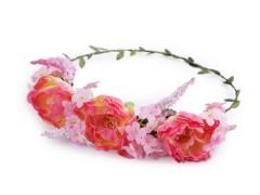 Virág koszorú hajba Ékszer, hajdísz