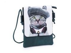 Kis női táska grafikával - 4 színben Gyerek táska, pénztárca