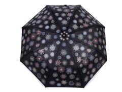 Női összecsukható esernyő varázslatos - Fekete