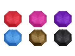 Női összecsukható kilövős esernyő virág mintával