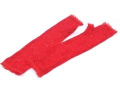 Hosszú alkalmi csipkekesztyű ujjatlan - Piros