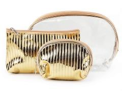 Kozmetikai táska szett - Arany Tárolás, Tisztítás