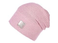Női sapka lurexel - Rózsaszín Női kalap, sapka
