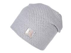 Női sapka lurexel - Világosszürke Női kalap, sapka