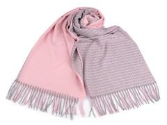 Akril téli sál - Rózsaszín