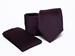Prémium nyakkendő szett - Burgundi Nyakkendő szettek