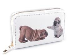 Női/Lány kutyusos pénztárca