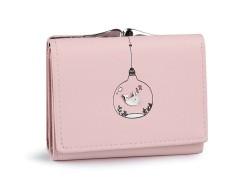 Női pénztárca - Rózsaszín Női táska, pénztárca