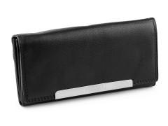 Női bőr pénztárca - Fekete