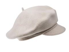 Női barett Tonak 100% gyapjú - Nyers Női kalap, sapka