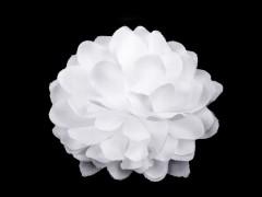 Textil virág 10 db/csomag - Fehér