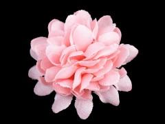 Textil virág 10 db/csomag - Rózsaszín