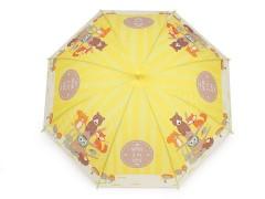 Gyerek kilövős esernyő - Róka Gyerek esernyő, esőkabát