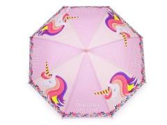 Gyerek kilövős esernyő - Egyszarvú Gyerek esernyő, esőkabát