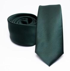 Prémium slim nyakkendő - Zöld Egyszínű nyakkendő