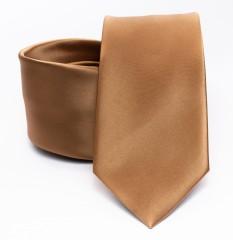 Prémium slim nyakkendő - Arany Egyszínű nyakkendő
