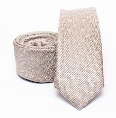 Prémium slim nyakkendő - Natur aprómintás Aprómintás nyakkendő