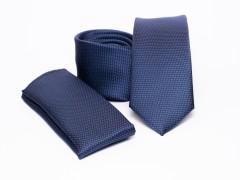 Prémium slim nyakkendő szett - Kék Nyakkendő szettek