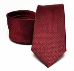 Prémium selyem nyakkendő - Meggybordó Selyem nyakkendők