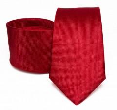 Prémium selyem nyakkendő - Meggypiros Selyem nyakkendők