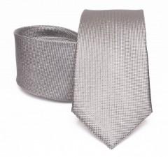 Prémium selyem nyakkendő - Ezüst Selyem nyakkendők